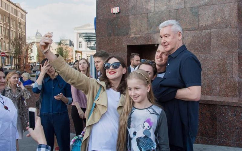 Собянин: Туристический поток в Москву связан с проведением фестивалей