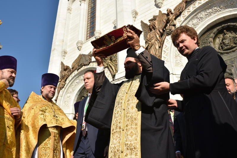 В Москву привезут мощи святых Петра и Февронии. Фото: архив
