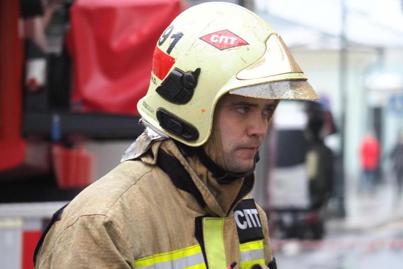Пожар на газопроводе в Мытищах локализован