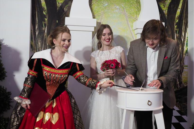 В Москве 5 и 6 июля вступили в брак 1,3 тыс пар. Фото: архив