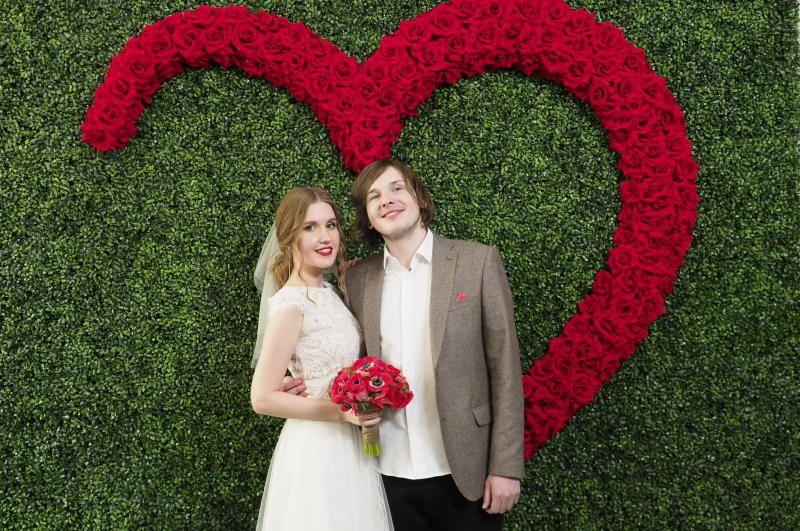 В Москве в канун Дня любви, семьи и верности заключено 1,3 тыс браков. Фото: архив