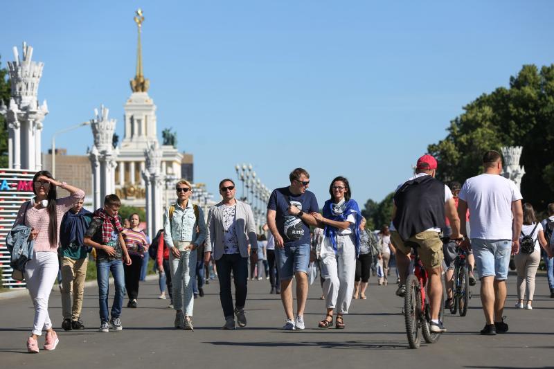 Семейный фестиваль на ВДНХ за полдня привлек более 90 тыс человек