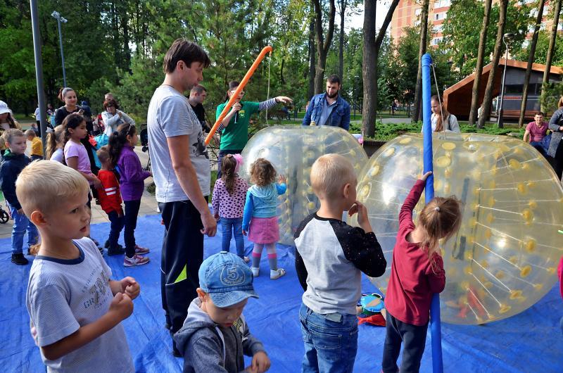 День молодежи отметили в поселении Сосенское