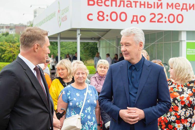 Собянин рассказал о планах дальнейшего развития проекта «Здоровая Москва»