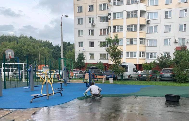 Улицу Дмитрия Рябинкина благоустроят в Десеновском