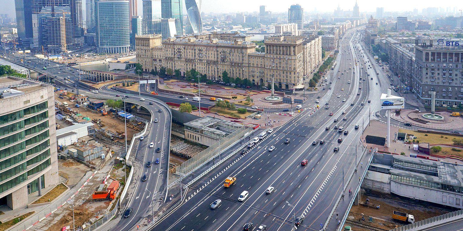 Первый участок дублера Кутузовского проспекта могут запустить в августе