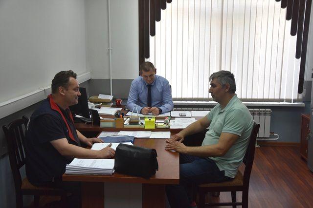 Заместитель Председателя Общественного совета УВД по ТиНАО принял участие в приеме жителей Троцкого городского округа