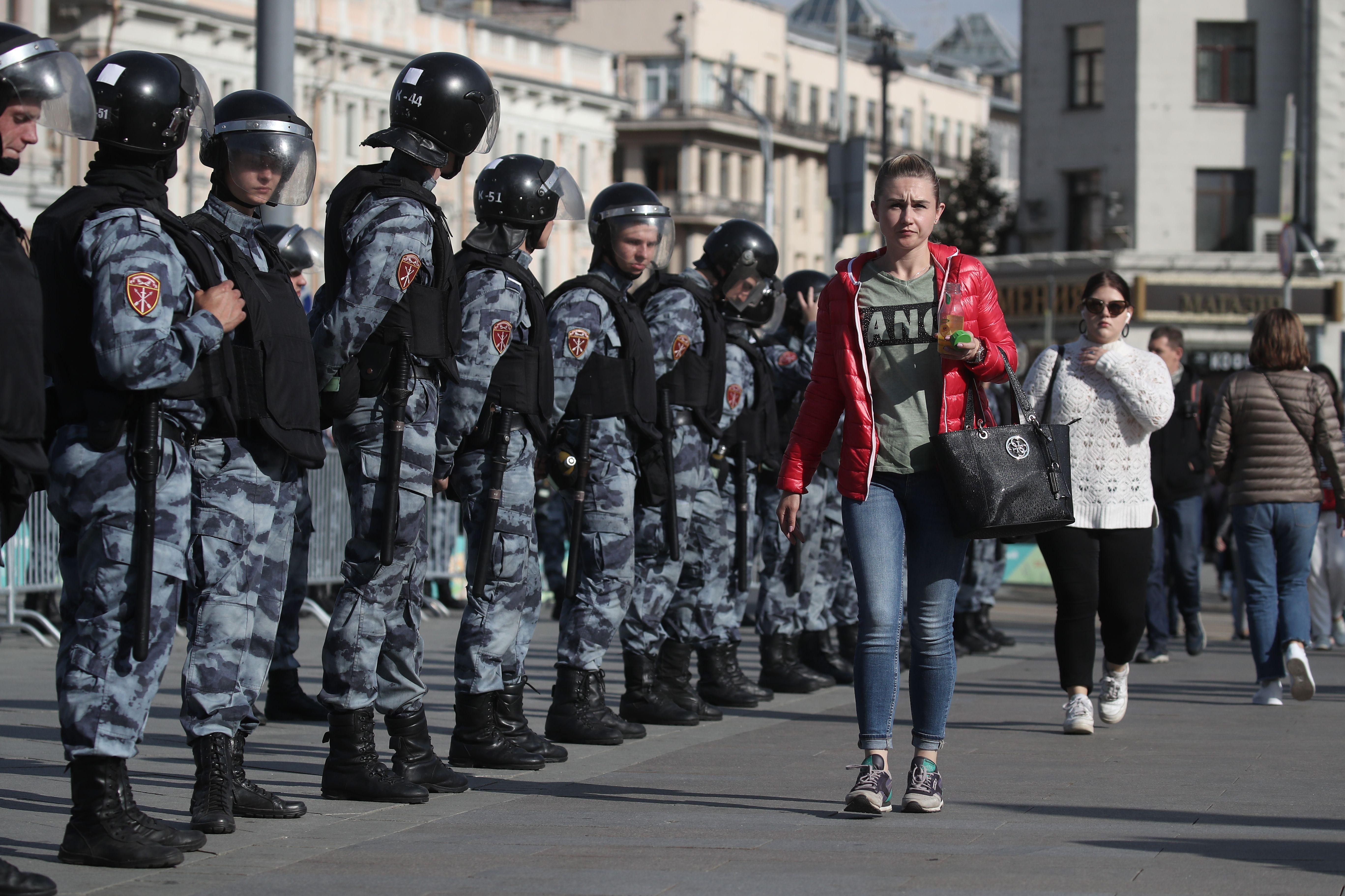 Москвичи против провокаций