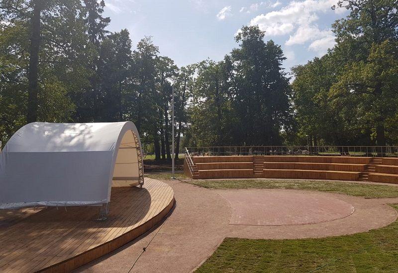 Работы по благоустройству местного парка выполнят к концу лета в Кленовском