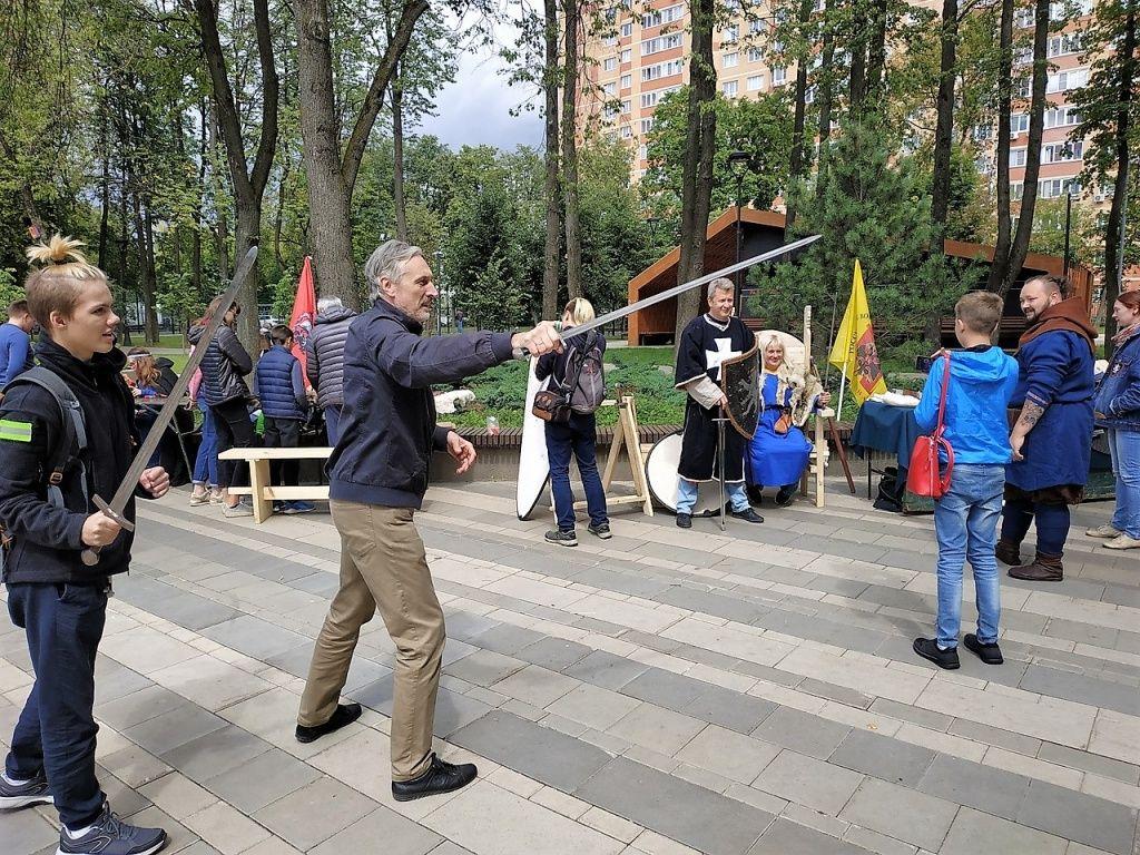 Исторический праздник организовали в Сосенском