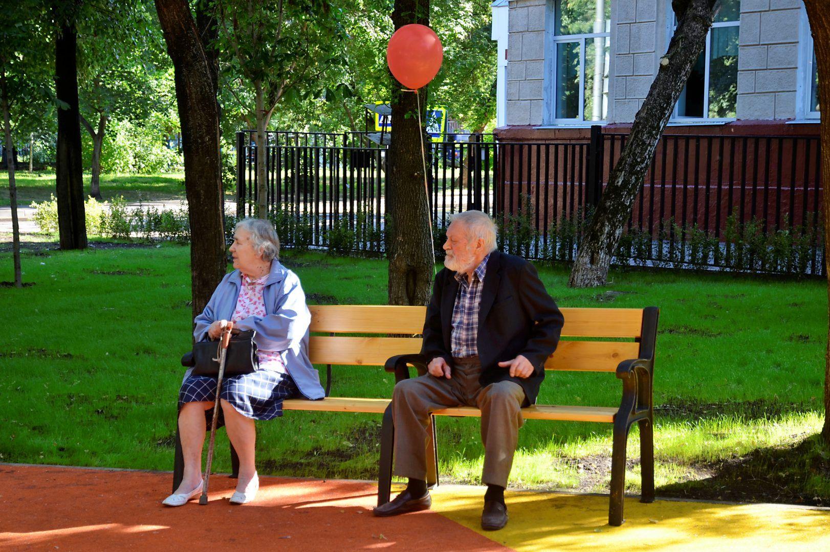 Обустройство зон отдыха проведут в парке Кленовского. Фото: Анна Быкова