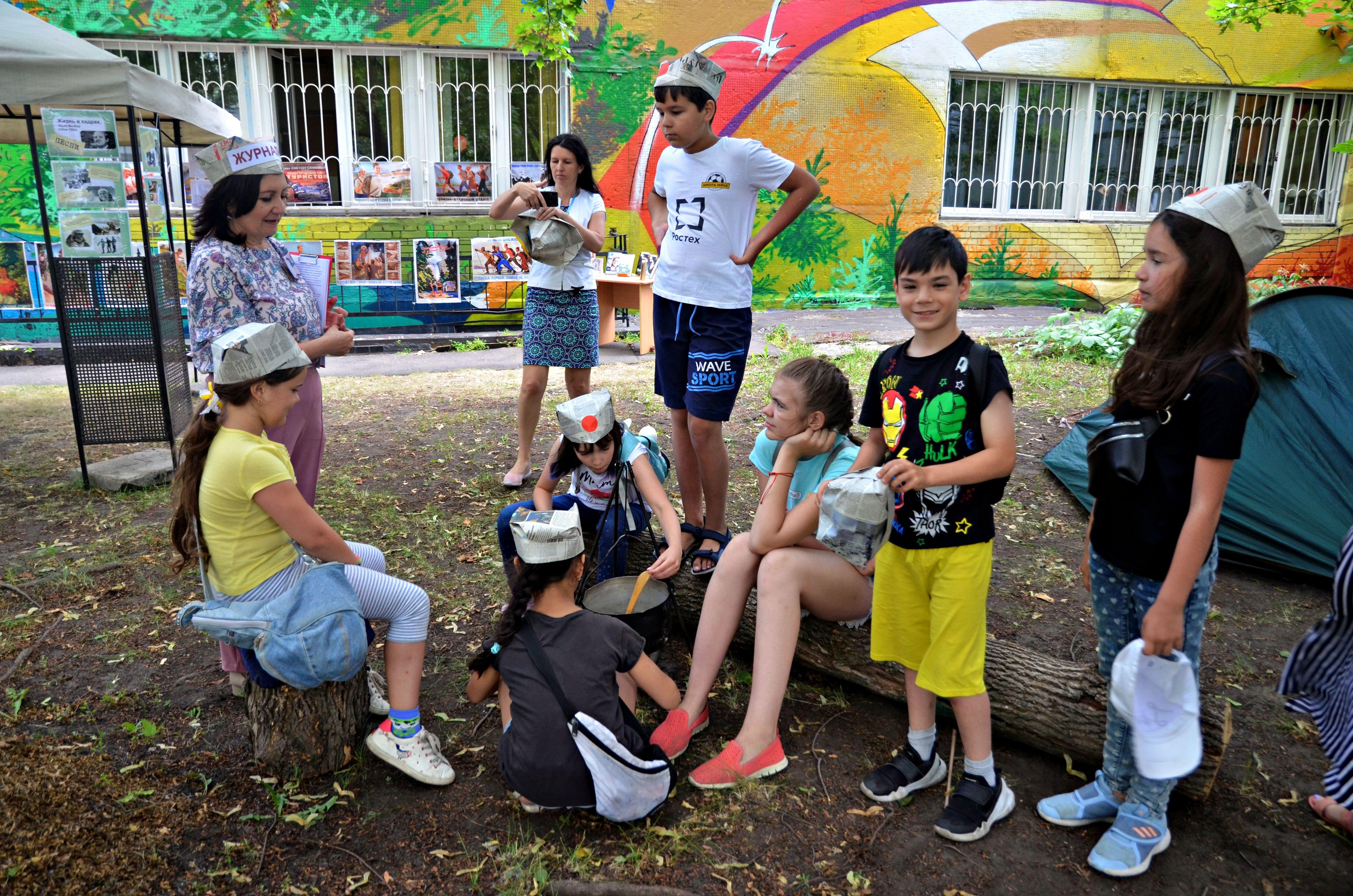 Туристический слет организовали на территории Марушкинского
