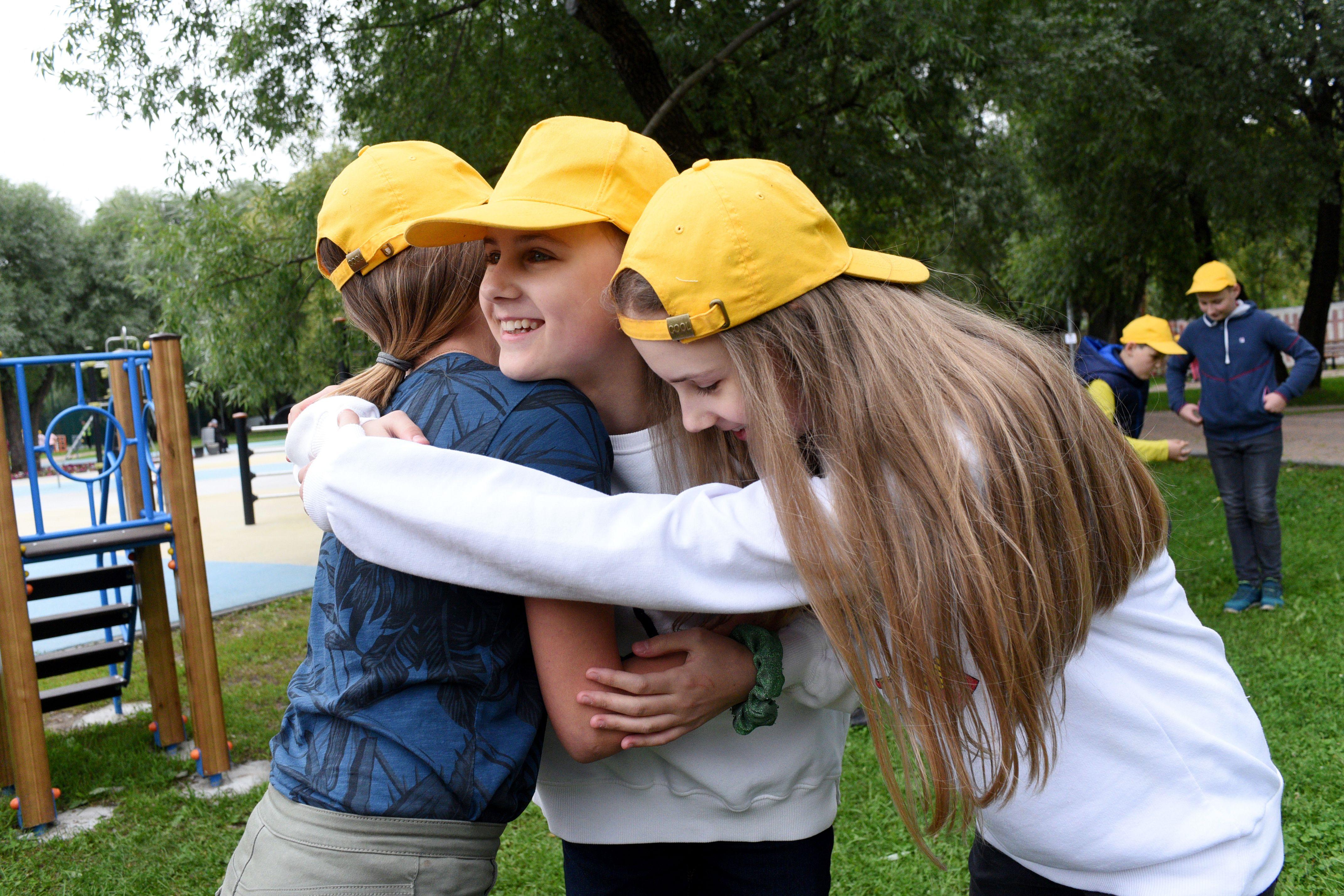 Дети выразили желание о скорой встрече. Фото: Пелагия Замятина, «ВечерняяМосква»