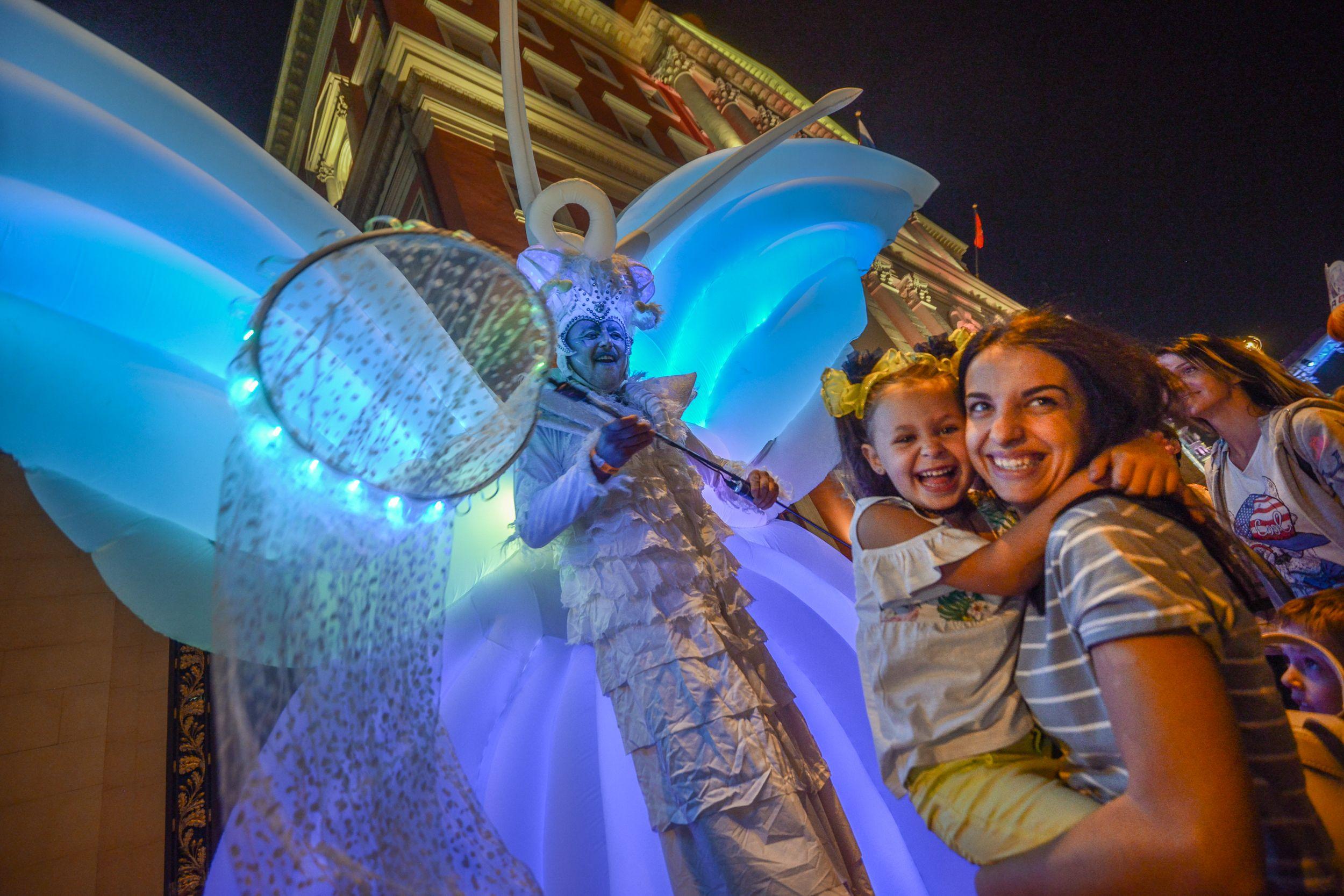 Москва подготовила более 250 праздничных программ ко Дню города