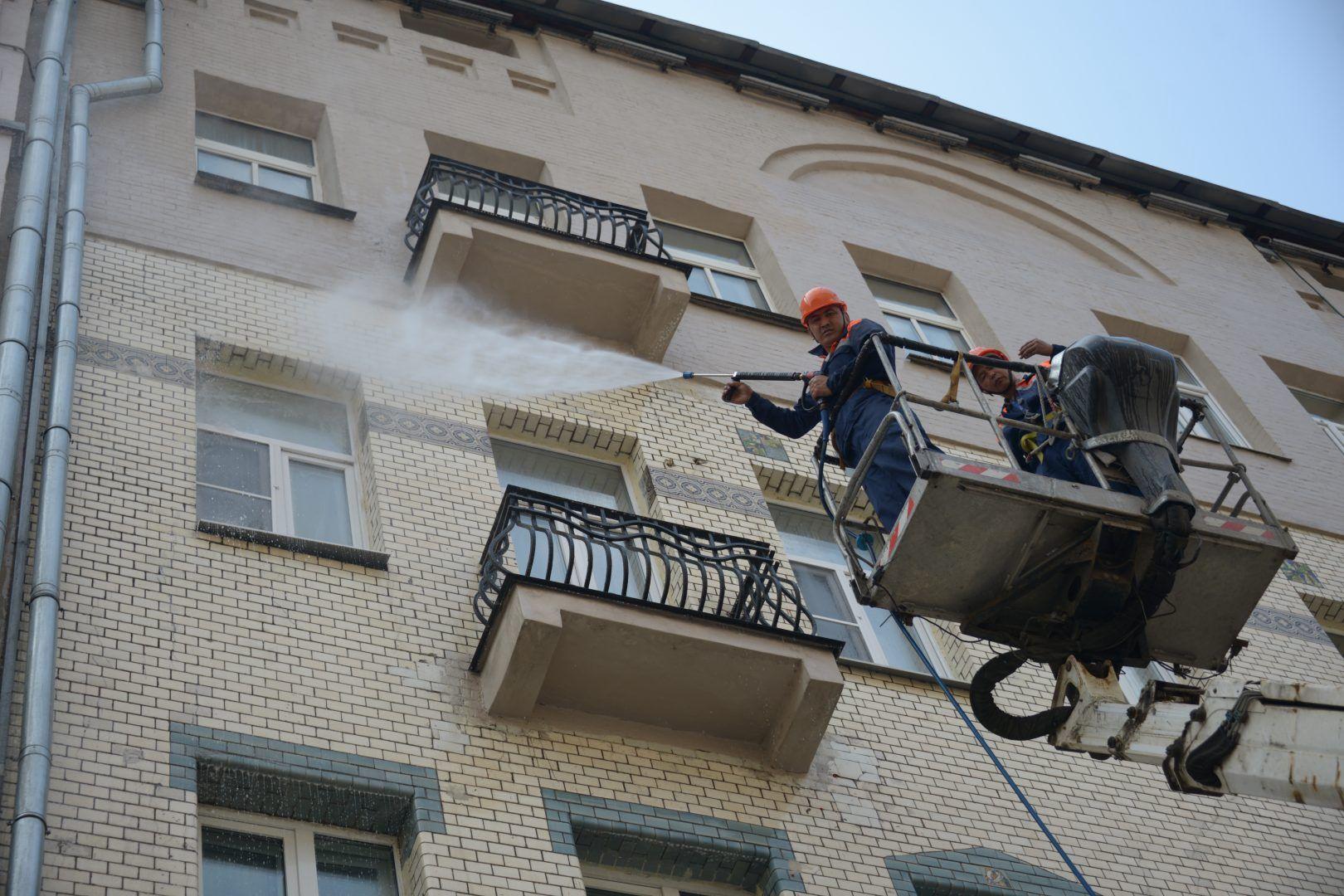 Работы проводят по программе благоустройства. Фото: Наталья Феоктистова, «Вечерняя Москва»