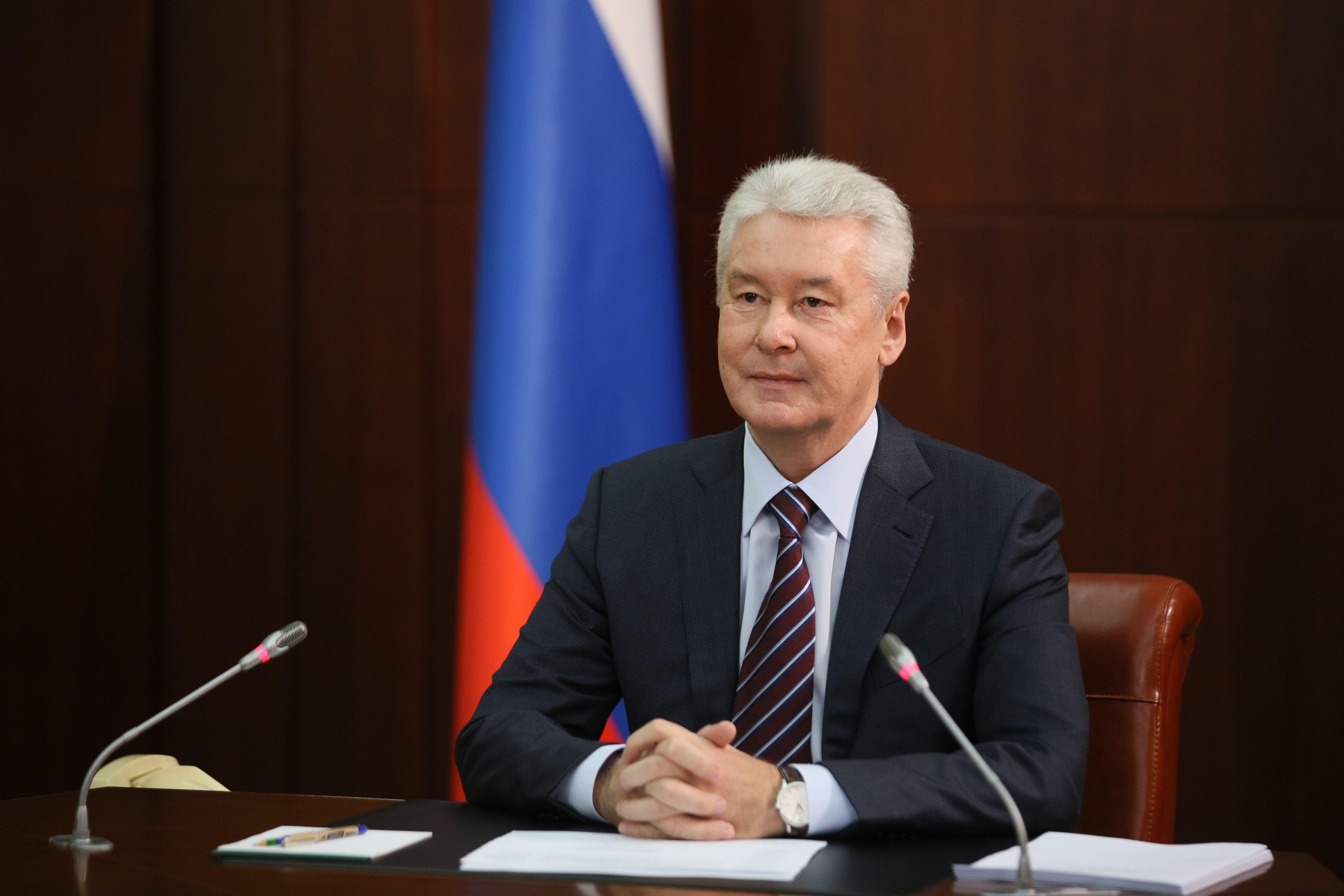 Собянин поздравил россиян с Днем Государственного флага