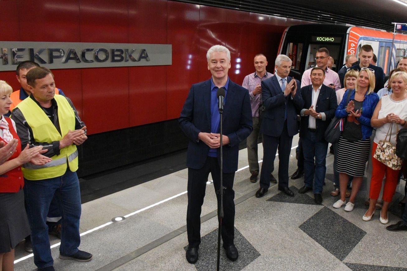 Московское метро увеличится вдвое за четыре года