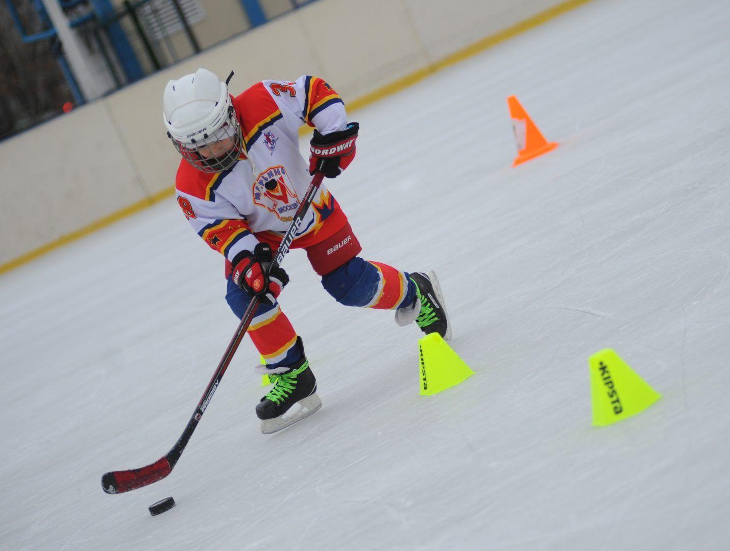 Спортсмены получат обновлённую хоккейную коробку. Фото: Александр Кожохин, «ВечерняяМосква»