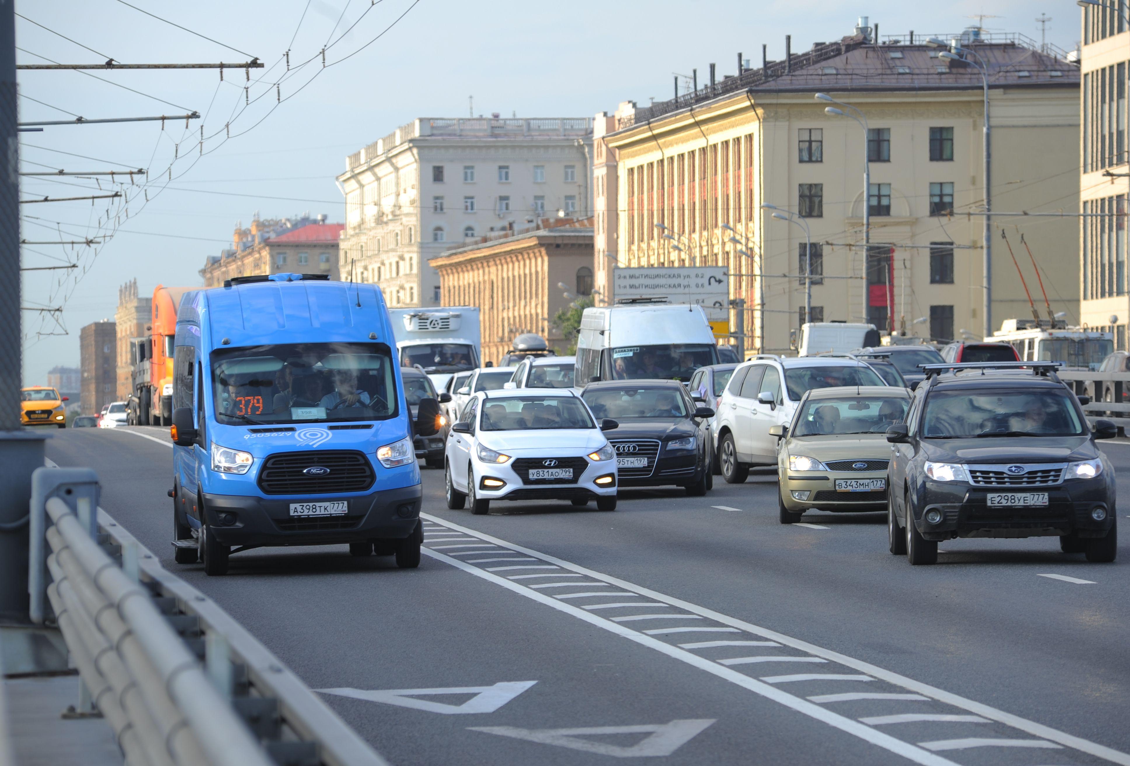 Новая Москва получит почти 20 километров выделенных полос