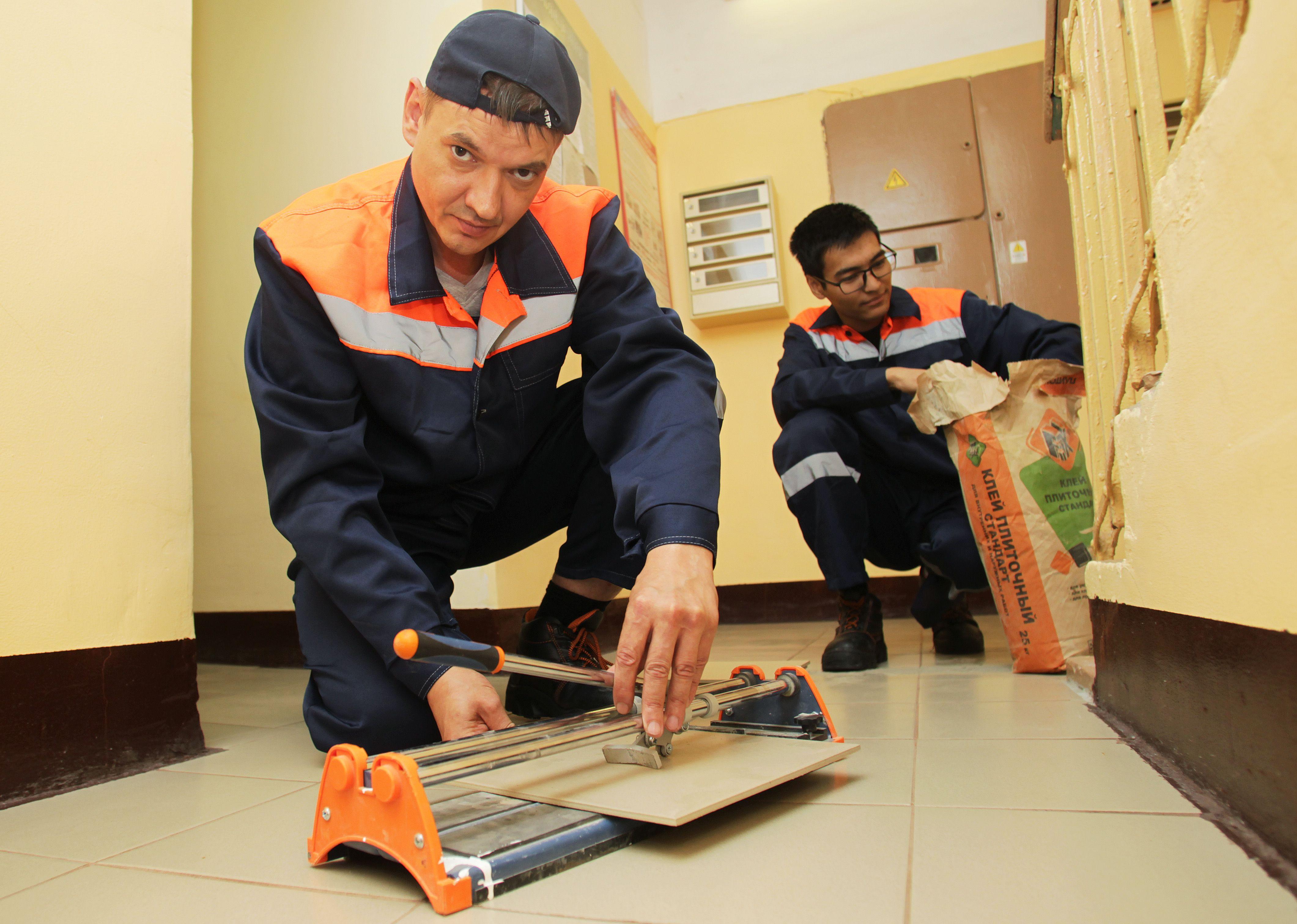 Подрядчики проведут ремонт в школе городского округа Троицк. Фото: Наталия Нечаева, «Вечерняя Москва»