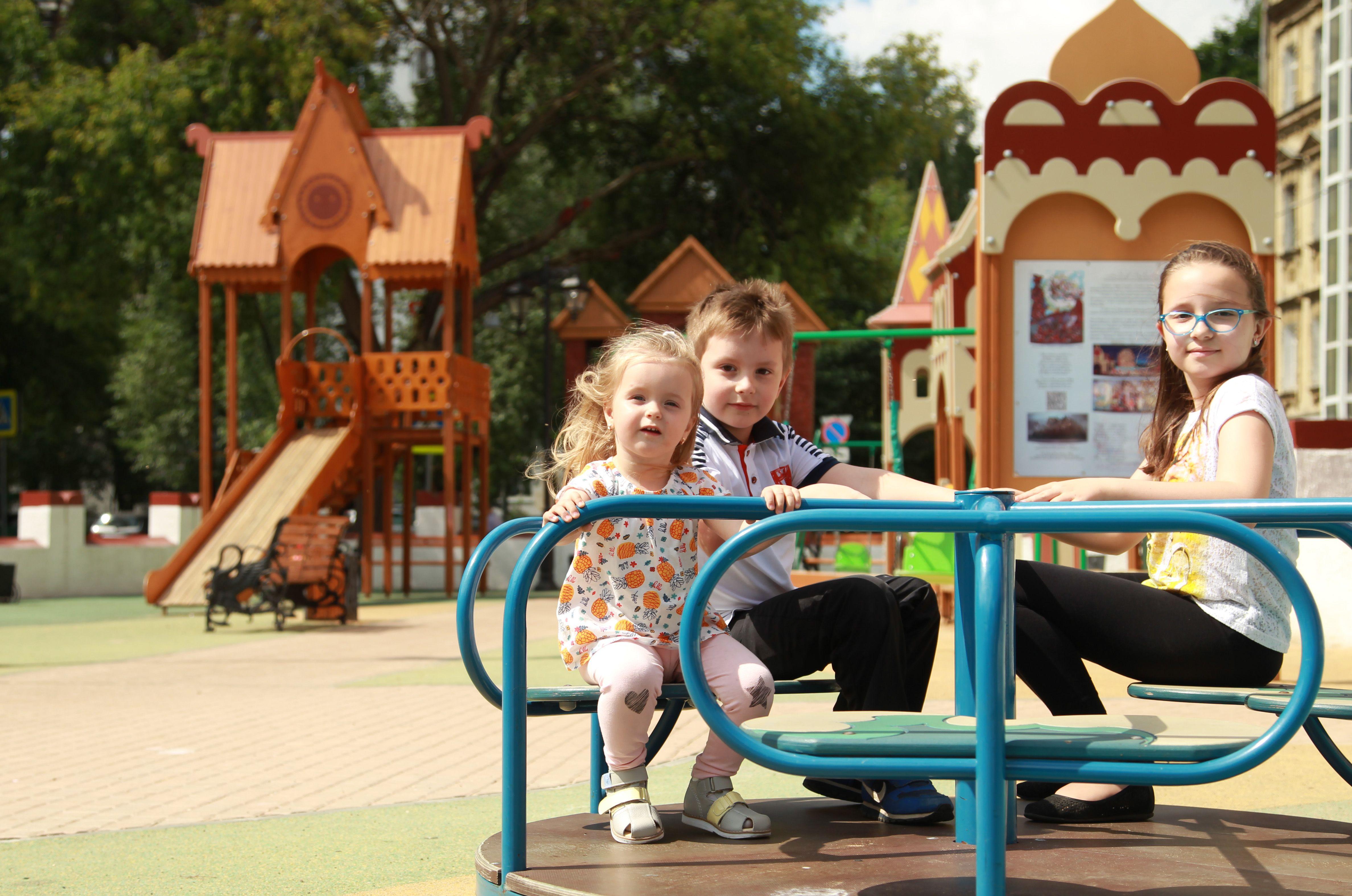 Дети буду рады новым объектам. Фото: Наталия Нечаева, «Вечерняя Москва»
