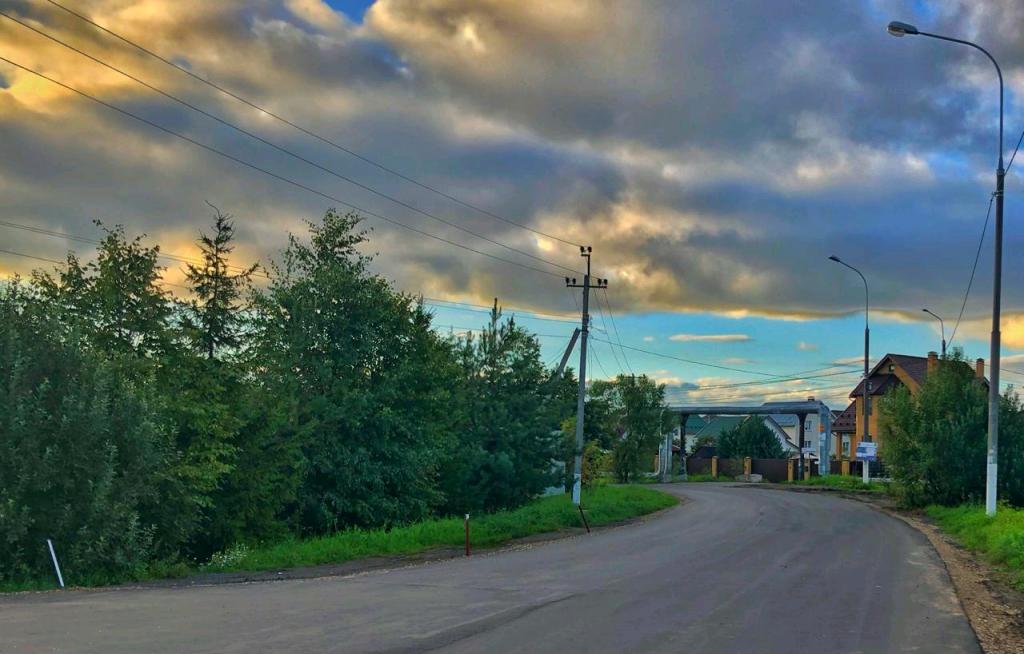 Деревня Марушкино, улица Октябрьская. Фото предоставили сотрудники администрации
