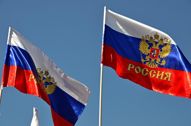 Выставку в честь Дня государственного флага показали в Центральной библиотеке Щербинки