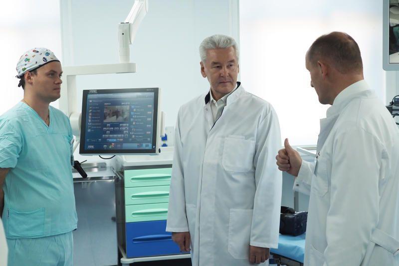Собянин поручил обновить в медучреждениях оборудование лучевой диагностики. Фото: архив