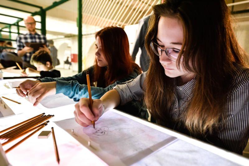 Урок по рисованию проведут в Десеновском