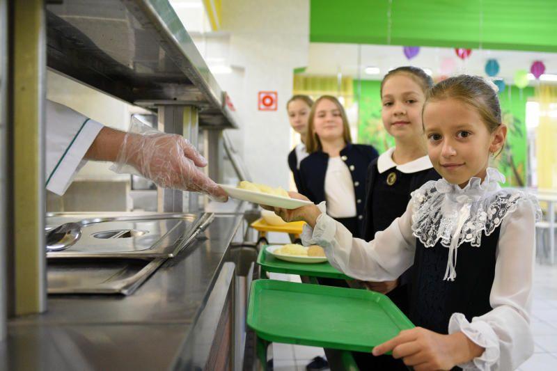 Обновленную школьную столовую открыли в Вороновском. Фото: Пелагия Замятина, «Вечерняя Москва»