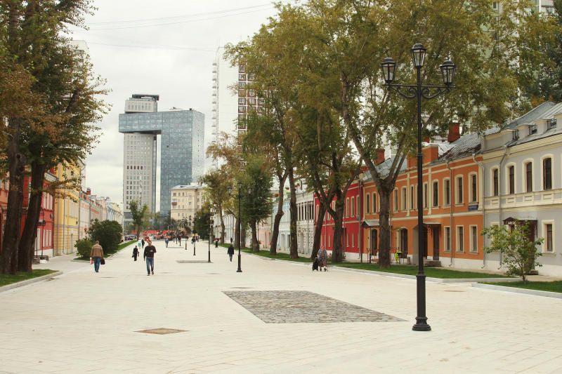 В Москве появится еще одна пешеходная улица