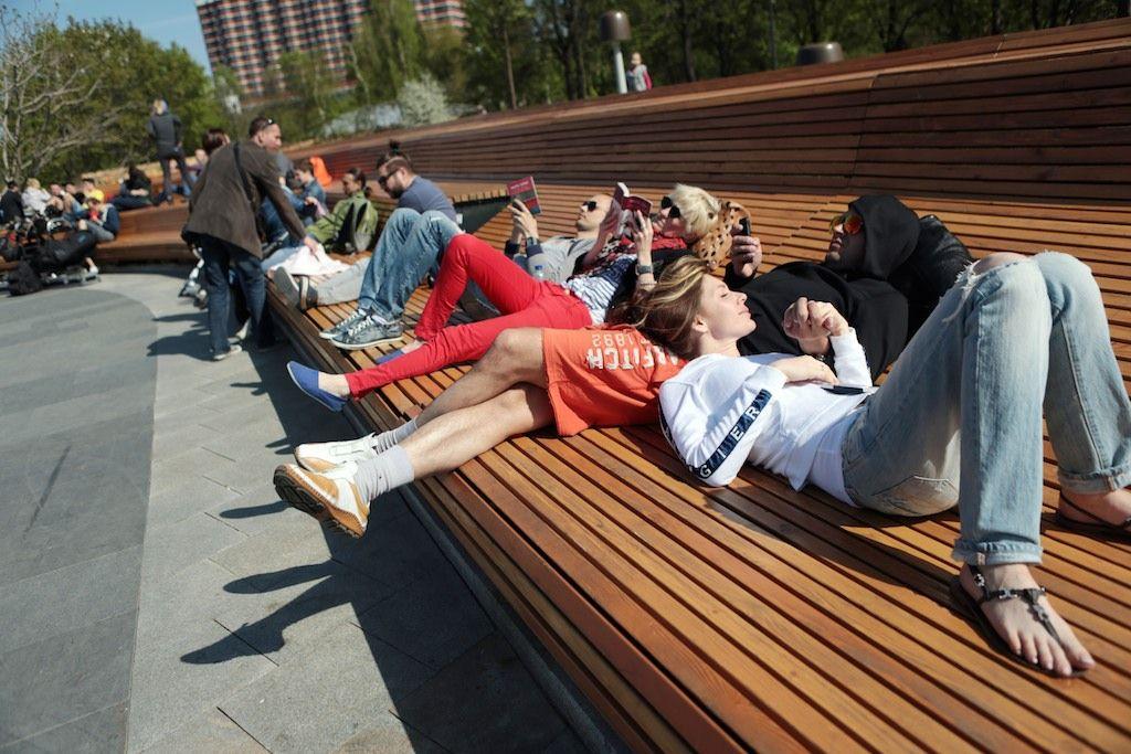 В Москву придет жаркая и солнечная погода