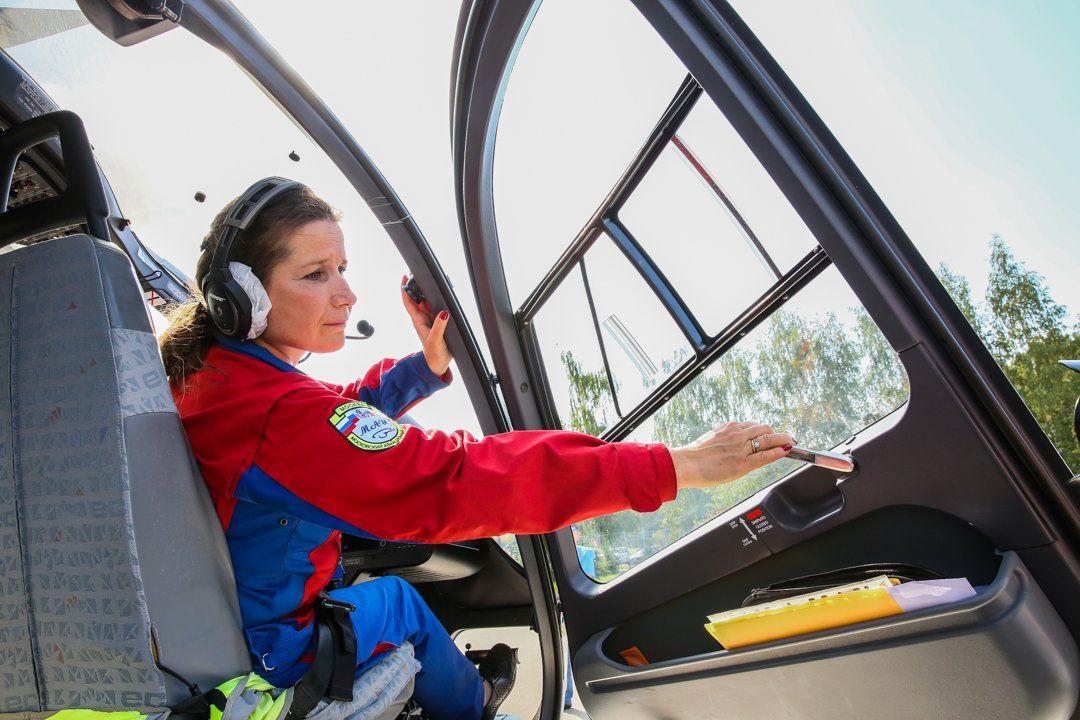 При Тушинской детской больнице открыли вертолетную площадку