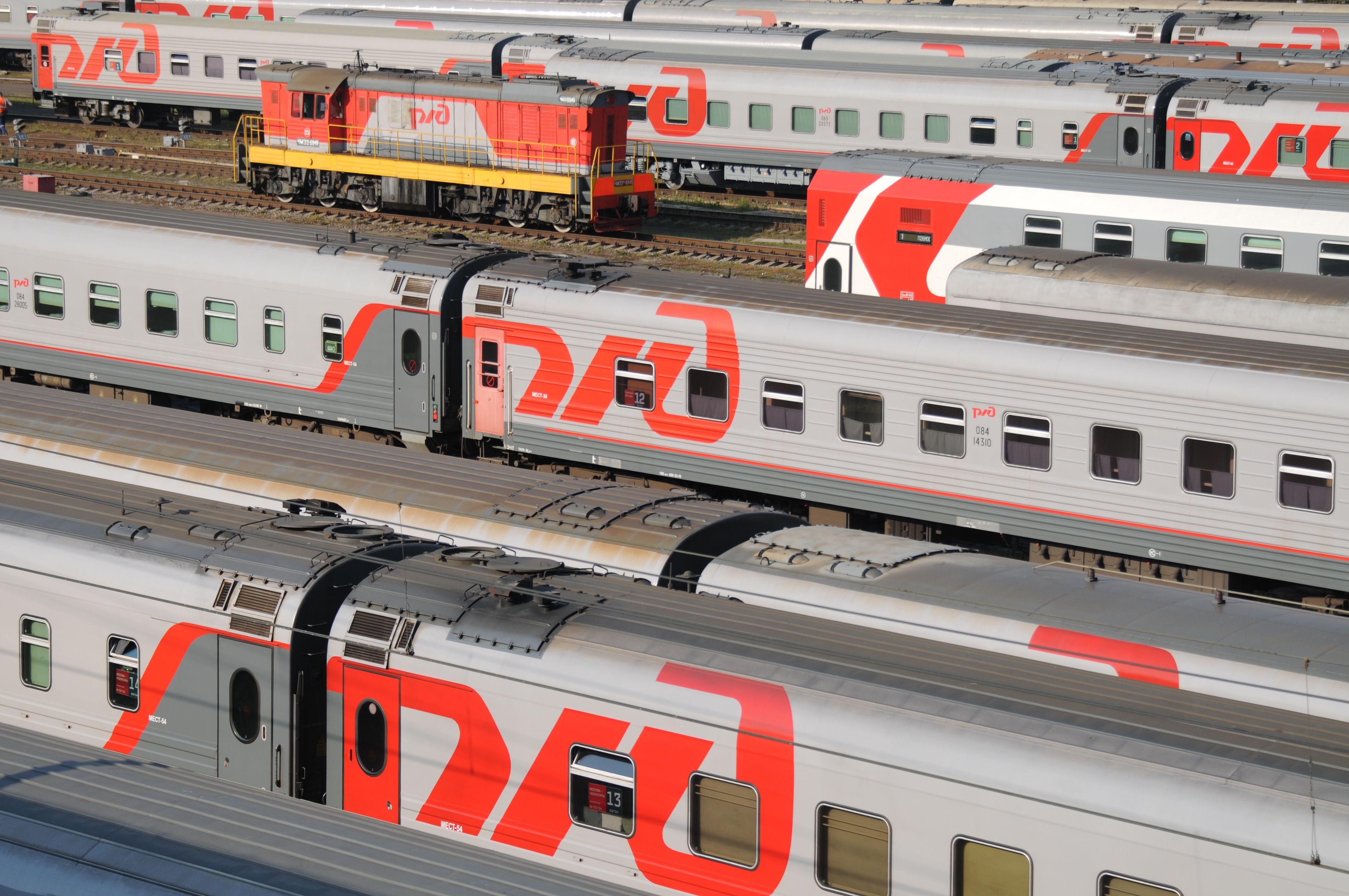 Москва запустила два поезда из Москвы в Москву