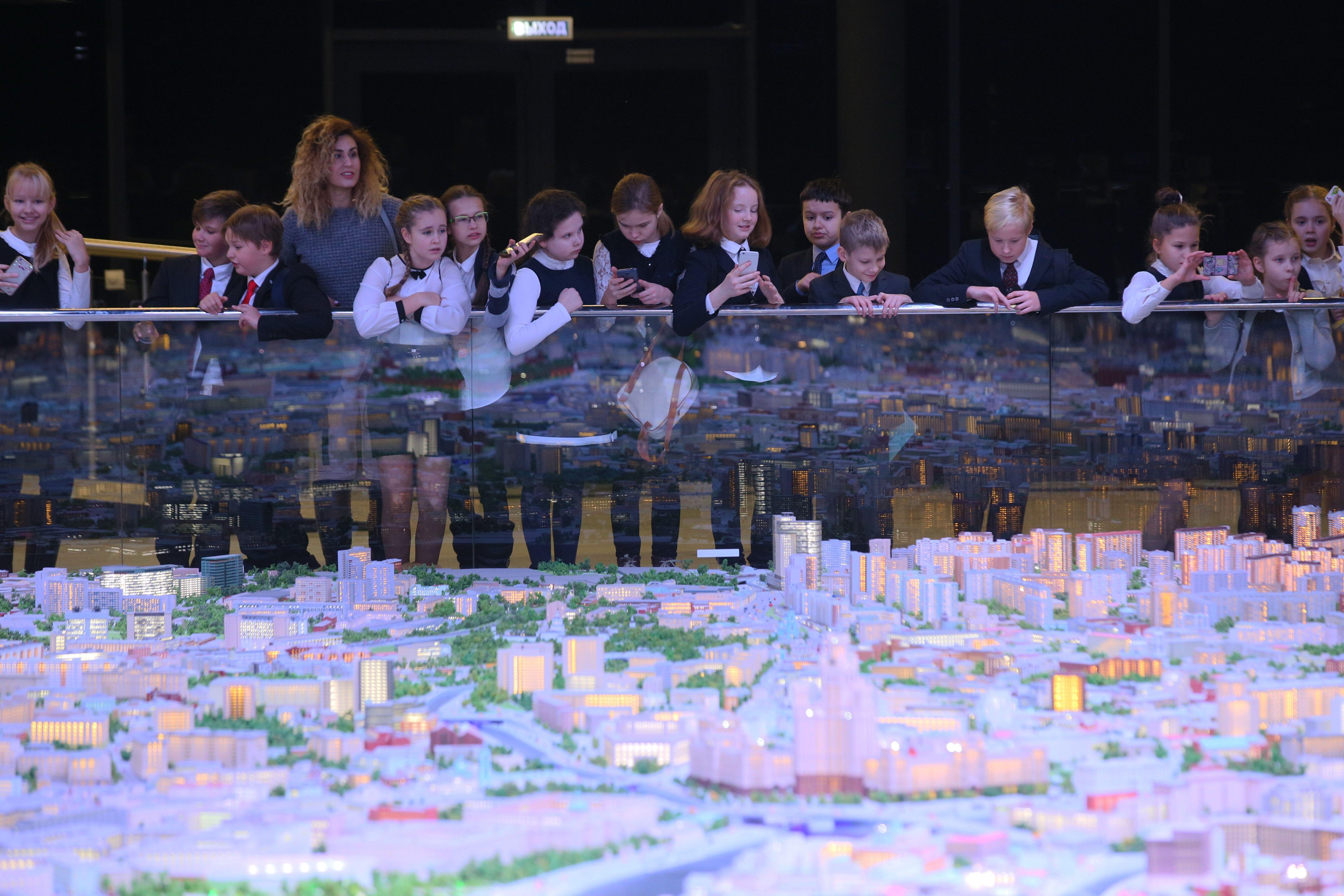 ВДНХ закроет павильон «Макет Москвы» до 2020 года