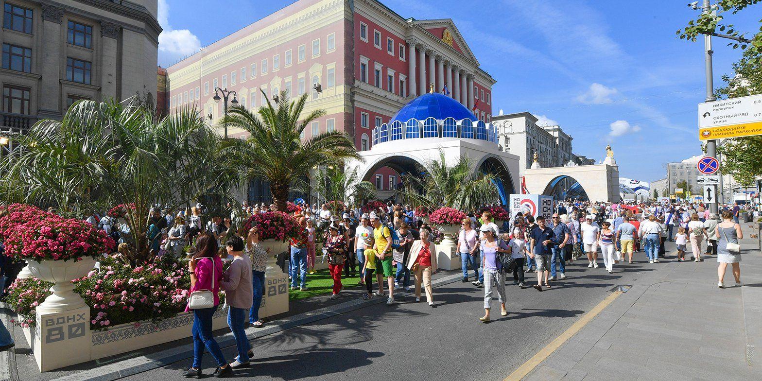 Более 1,7 млн человек уже посетили площадки празднования Дня города