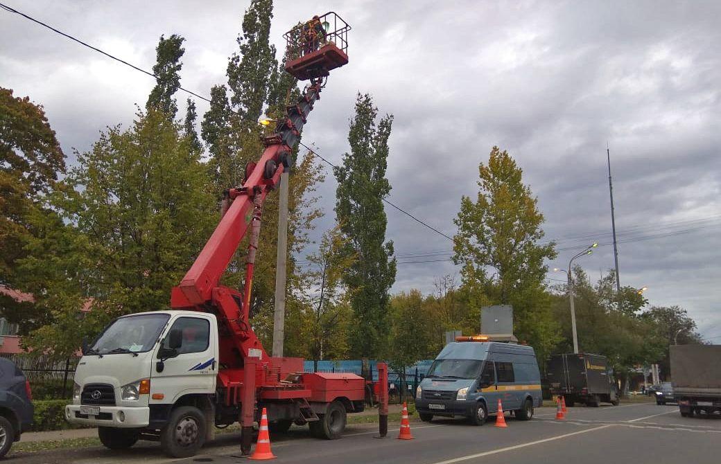 Осветительные приборы установят в Рязановском