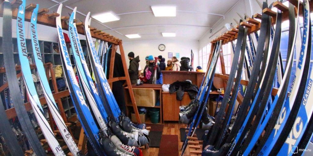 Территорию у лыжного модуля благоустроят в Вороновском