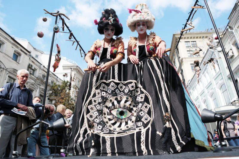 В День города в столице пройдет театральный фестиваль под открытым небом
