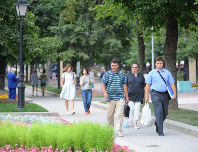 Теплая погода порадует москвичей 8 сентября