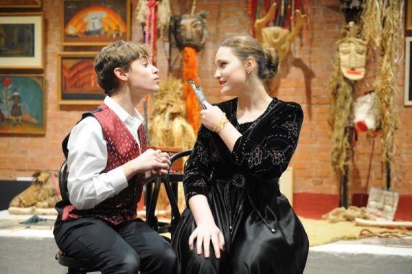 Театральную постановку о Красной Шапочке представят в поселении