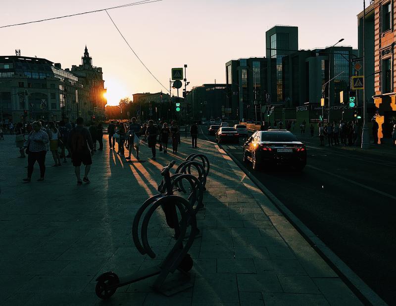Схема движения транспорта в центре столицы изменится с 5 по 9 сентября