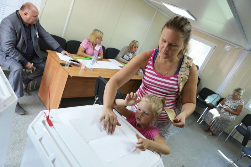 Свыше 28 тысяч горожан проголосовали досрочно на выборах в Москве