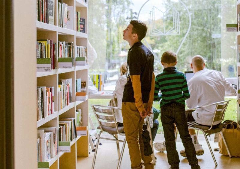 Книги смогут прочитать в библиотеке или дома. Фото: официальный сайт мэра Москвы