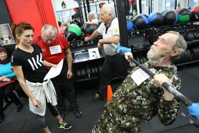 Спортивные секции привлекут в «Московское долголетие» больше мужчин. Фото: Алексей Орлов, «Вечерняя Москва»