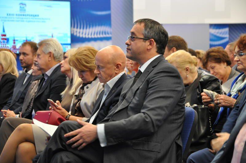 Председателя фракции Мосгордумы избрали на конференции. Фото: Денис Кондратьев
