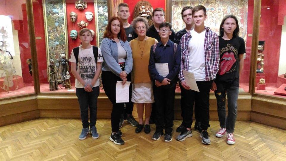 Уроки в музее проведут для школьников из Московского. Фото: официальная страница школы №2065 в социальных сетях