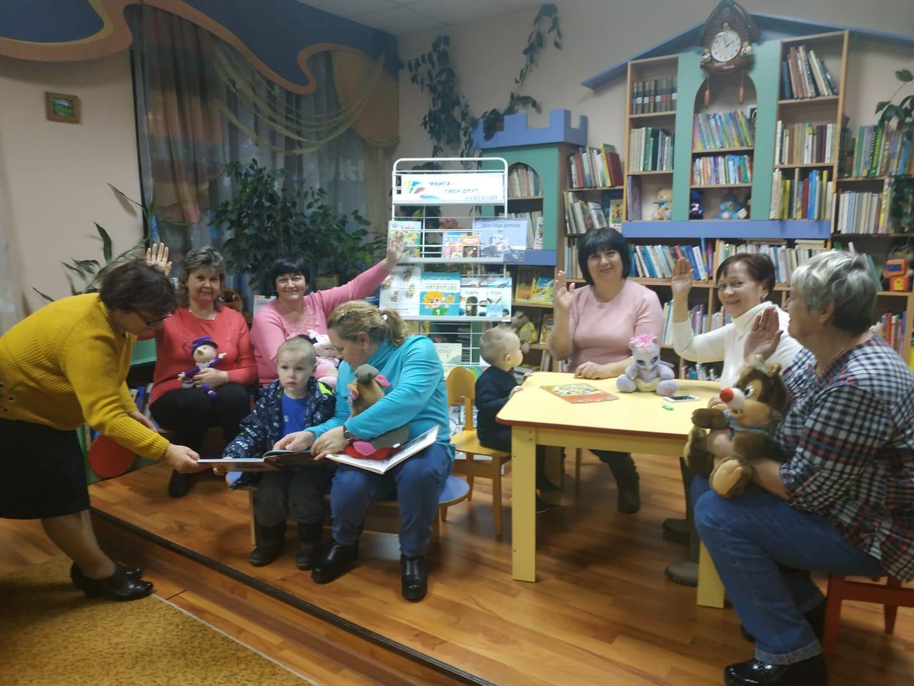 Программа для бабушек и внуков состоялась в Вороновском