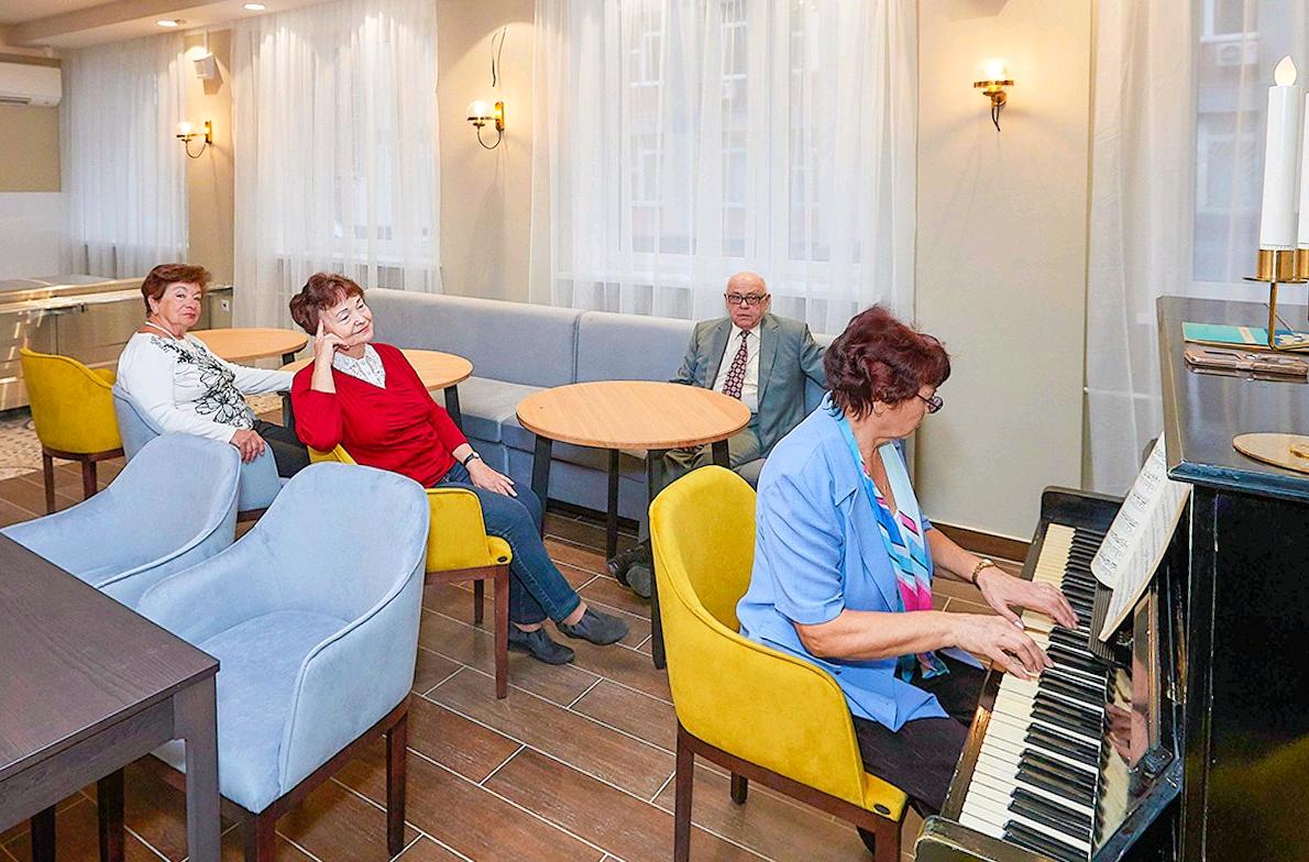 Праздничное мероприятие организуют в рамках проекта «Московское долголетие». Фото: официальный сайт мэра Москвы