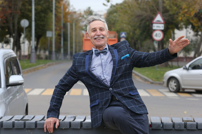 Руководитель циркового коллектива «Орлята» Николай Моренов. Фото: Виктор Хабаров